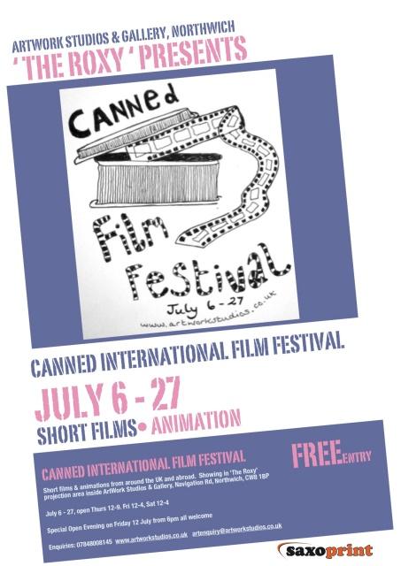 Canned International Film Festival Flyer